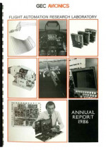 Flight Automation Research Laboratory - Annual Report 1986